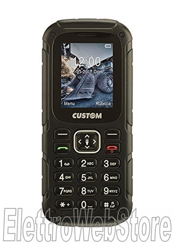 WALLY telefono cellulare GSM dual sim per cantiere resistente acqua e polvere