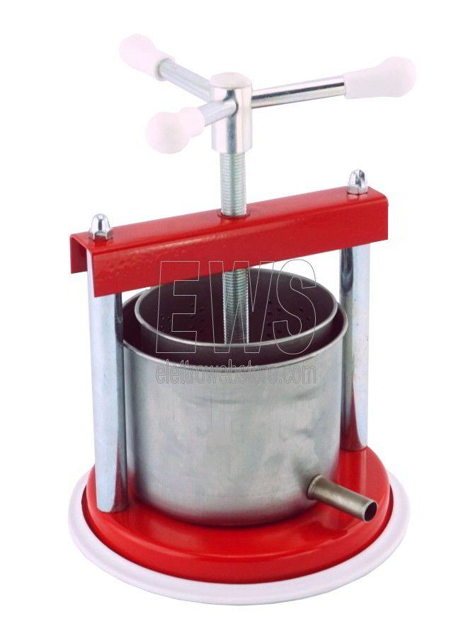 Torchietto medio premitutto per alimenti in acciaio 2 litri CDF1048