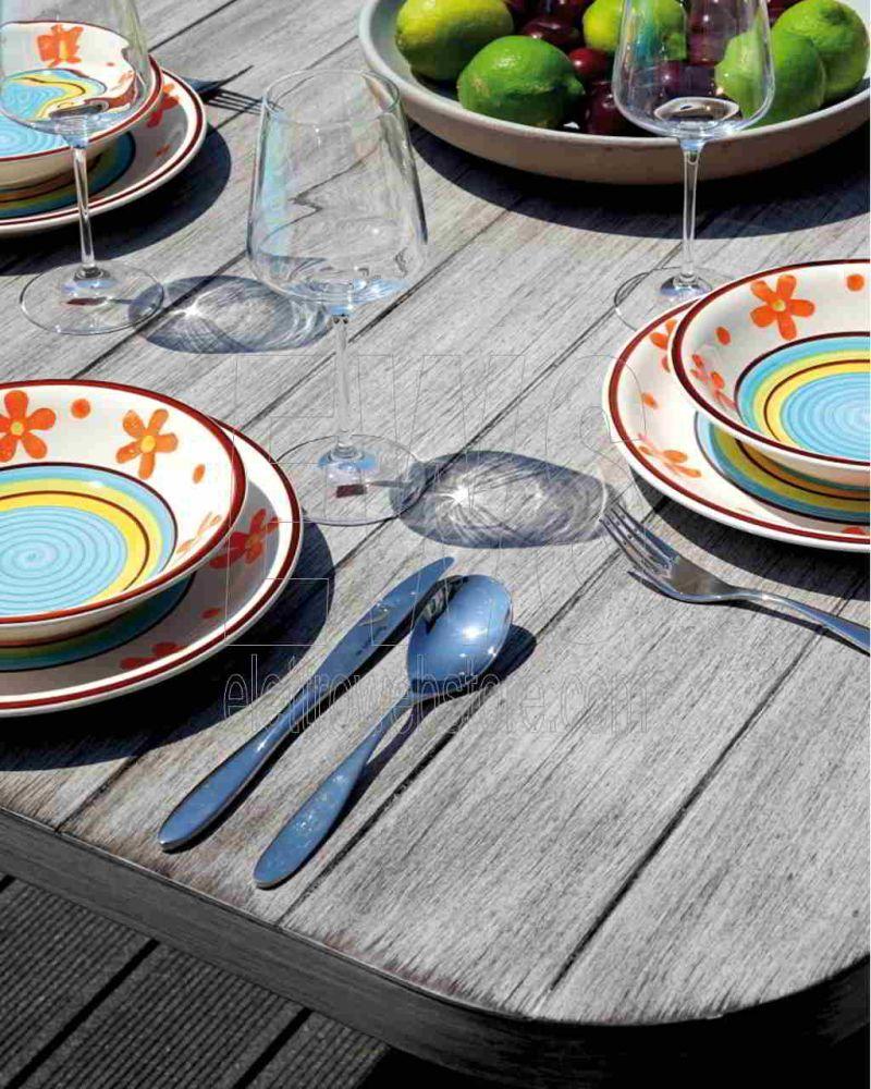 Portovenere tavolo + 6 sedie dining set DSA10