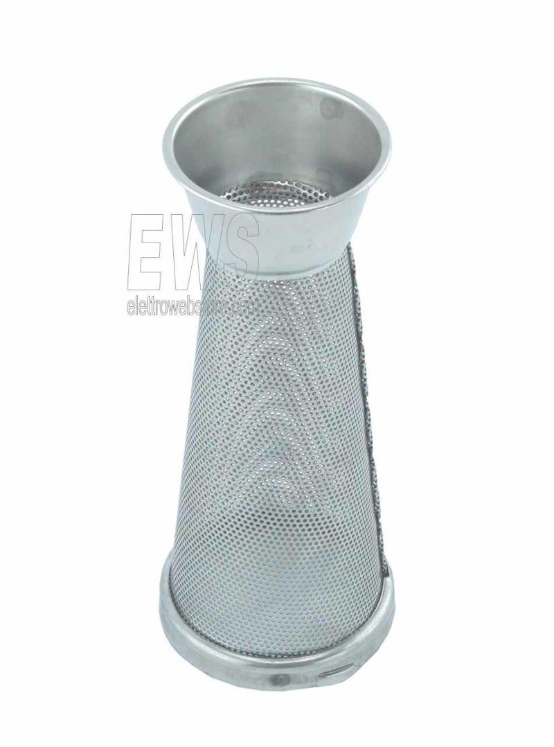 REBER cono filtro spremipomodoro 3 fori standard acciaio inox 5503N