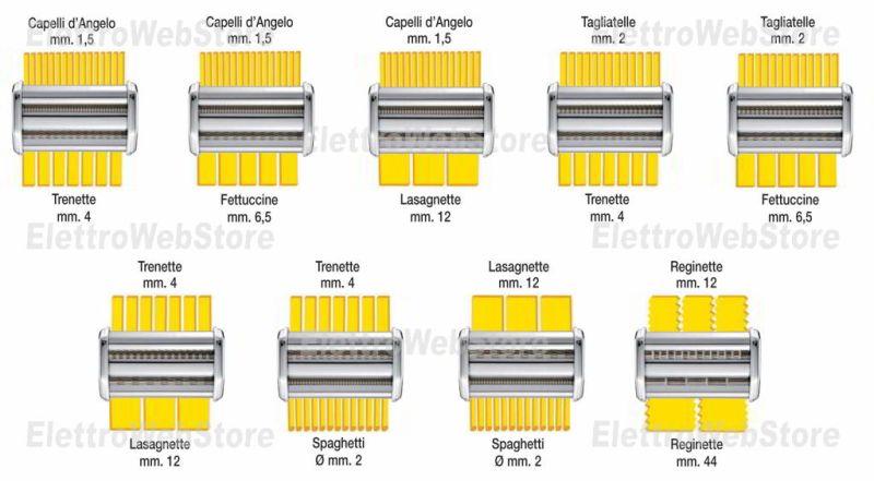 IMPERIA trafile tagli duplex per macchine della pasta