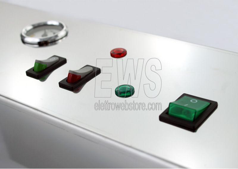 REBER Professional Electronic 55 macchina sottovuoto inox 9712NEL