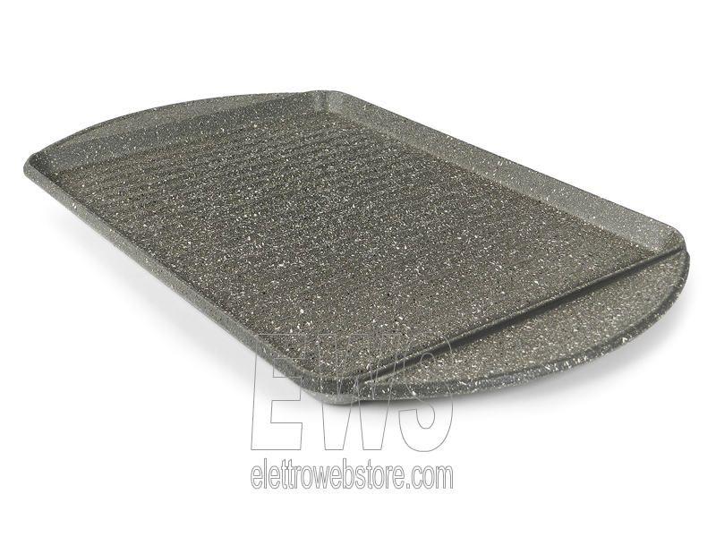 Flonal Monolite vassoio rettangolare grigliato cm.36x26