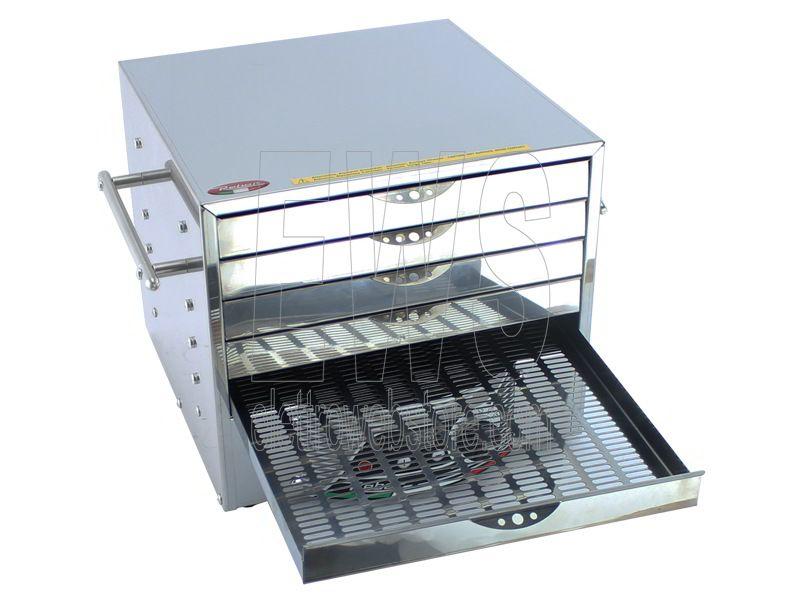 REBER essiccatore digitale per alimenti inox 10080N