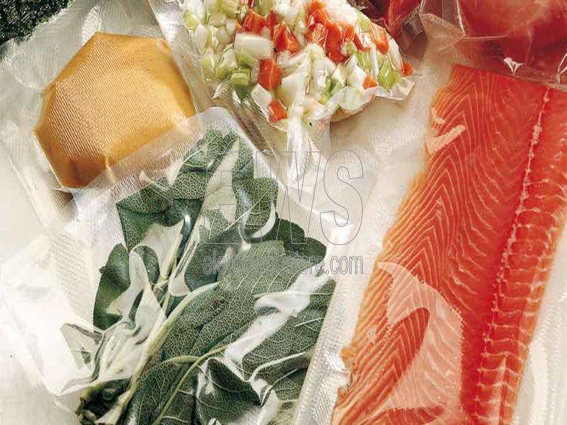 Buste e sacchetti sottovuoto goffrati per alimenti embossed vacuum bags Royal Pack ECO7