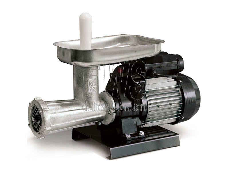REBER tritacarne 22 elettrico 600 W HP 0.80 9500N modello classico