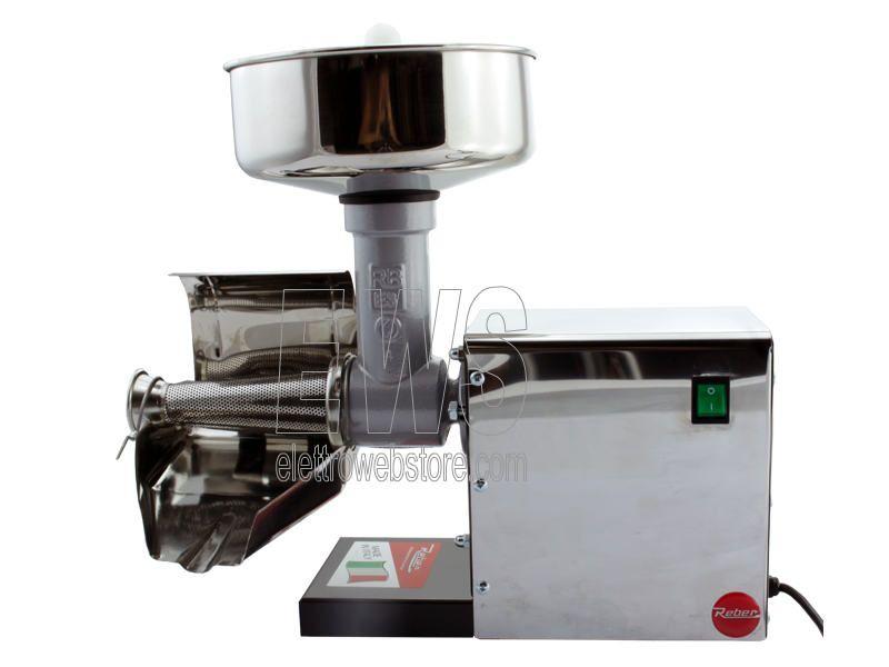 REBER Spremipomodoro elettrico n.3 risparmio energetico 150 Watt 10900N come modello 9008N