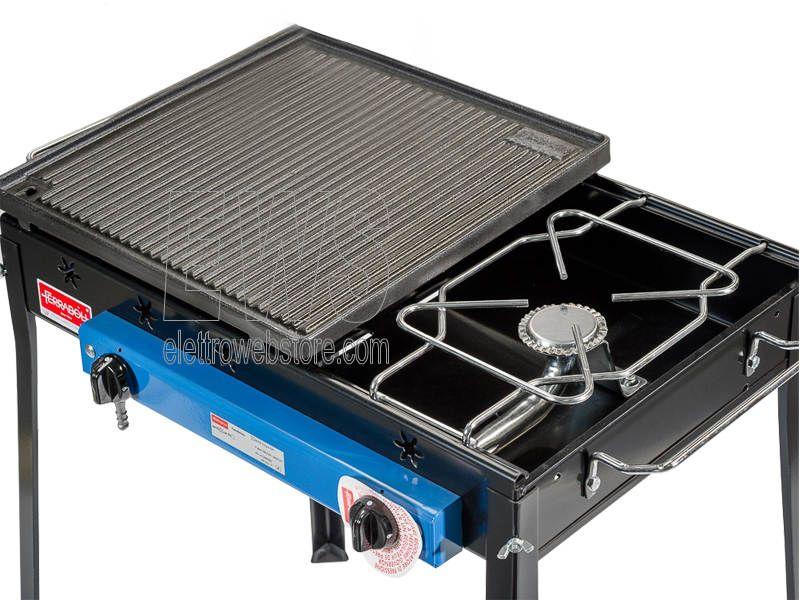 Ferraboli barbecue ghisa gas combinato 092