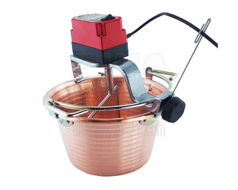 Botta Cuoca Automatica paiolo rame 32 cm 9 litri 24 Watt
