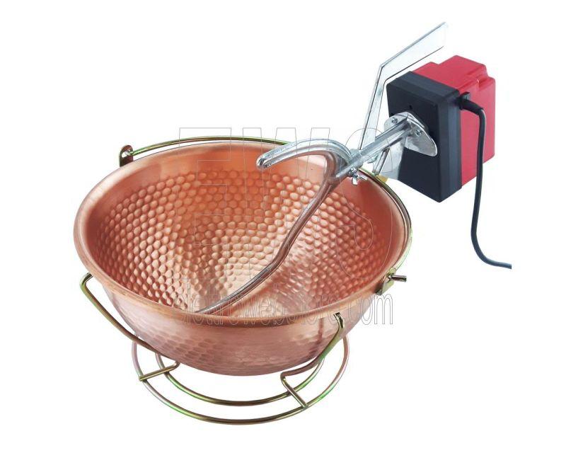 Botta Cuoca Automatica paiolo rame 30 cm 6 litri 5 Watt