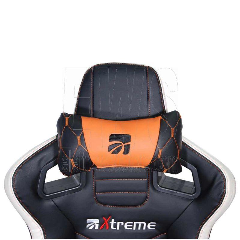 XTREME Sedia gaming con seduta anatomica PRO1 90552