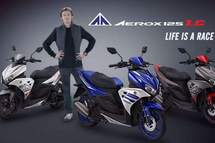 Setelah Lama Dinanti Akhirnya Yamaha Aerox 125LC Mulai Dipasarkan di Palangka Raya