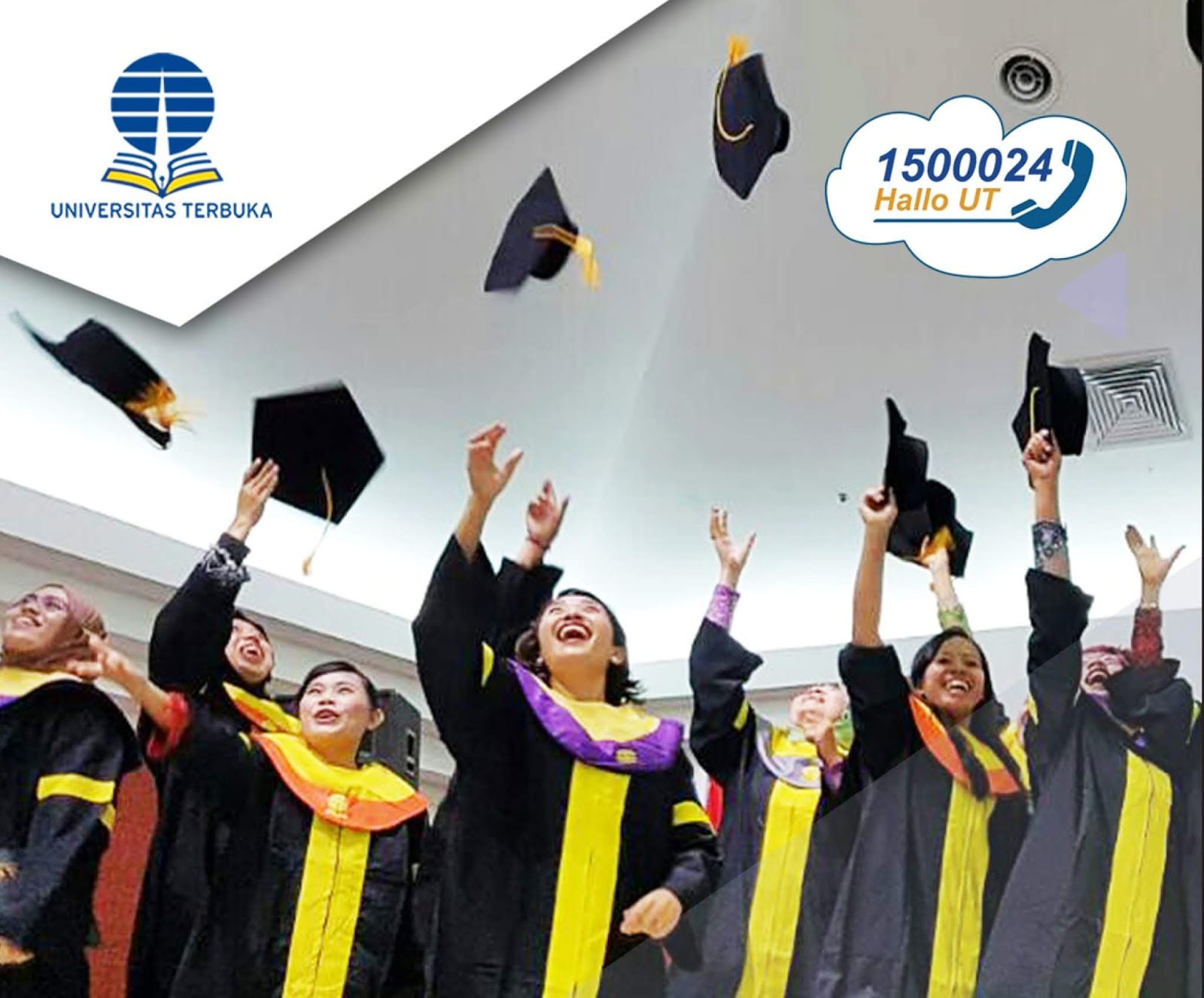 Universitas Terbuka Bebaskan Biaya SPP Bagi Mahasiswa Terdampak Covid-19