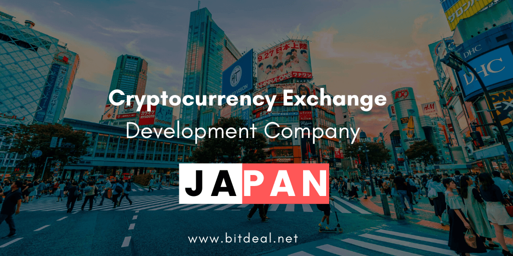 Cryptocurrency Exchange Development Company in Japan
