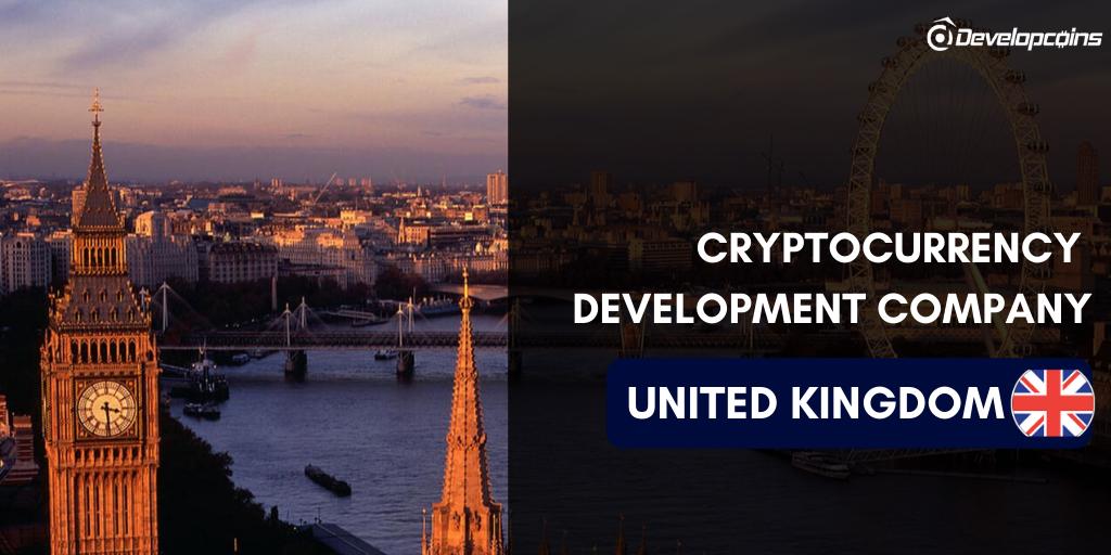 Cryptocurrency Development Company in UK, United Kingdom