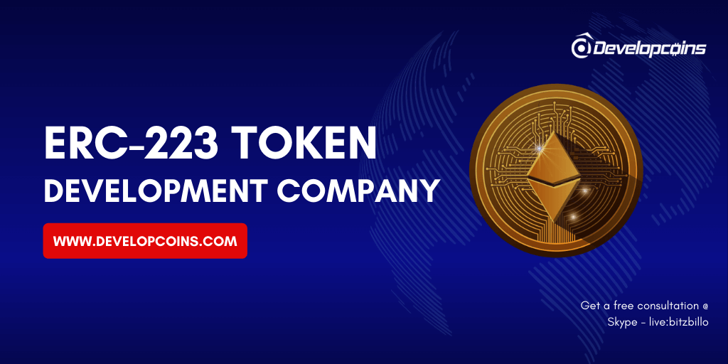 ERC223 Token Development Company | ERC223 Token Creation Services