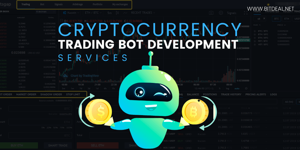 How to Create Crypto Trading Bot? | Crypto Trading Bot for Crypto Exchanges