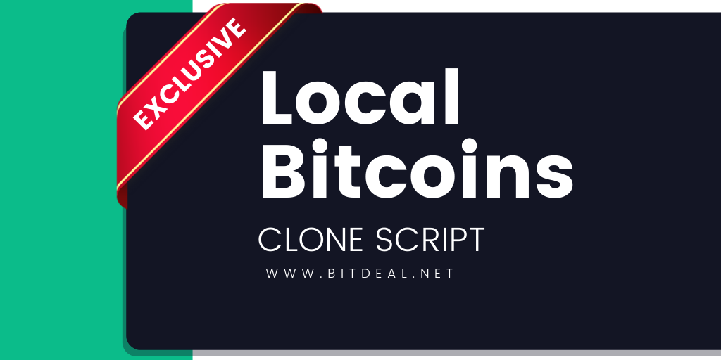 LocalBitcoins Clone Script to start P2P exchange like LocalBitcoins