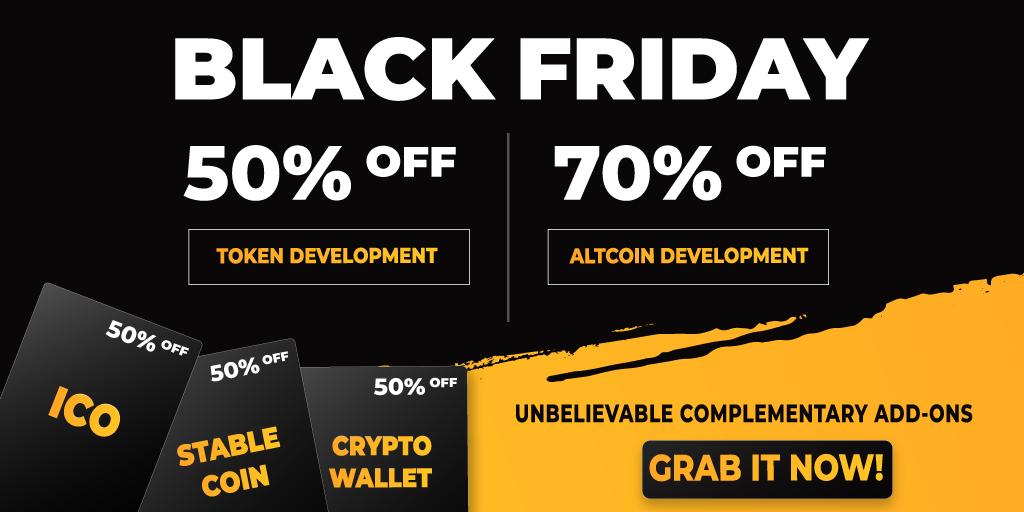 Developcoins Black Friday Deals 2019
