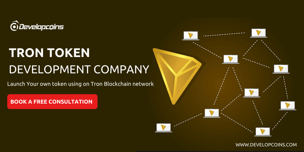Tron Token Development | TRC10 & TRC20 Token Development Company
