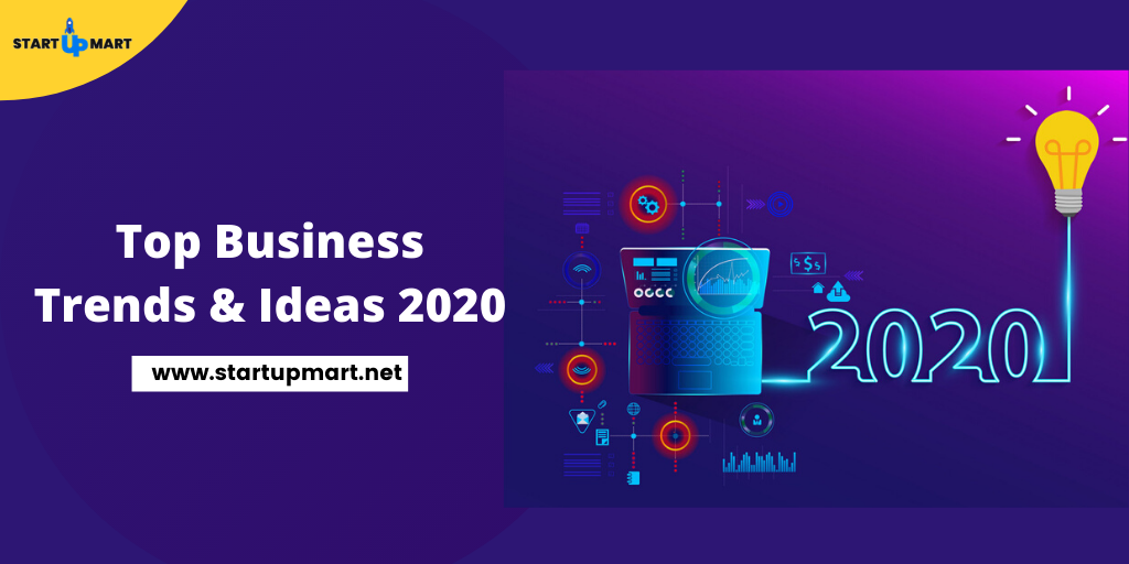 Top Business Trends & Ideas 2020 for Startups & Budding Entrepreneurs