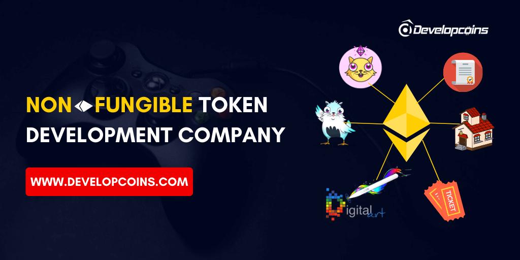 Non-Fungible Token Development Company | ERC-721 Token Creation Services