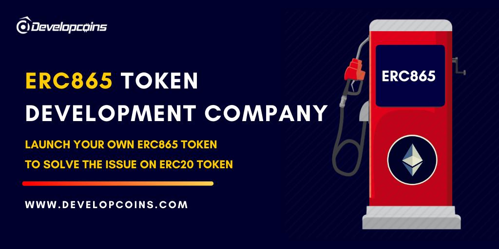 ERC865 Token Development Company