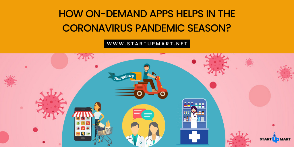 How On-Demand Apps Help in the Coronavirus (COVID19) Pandemic Season?