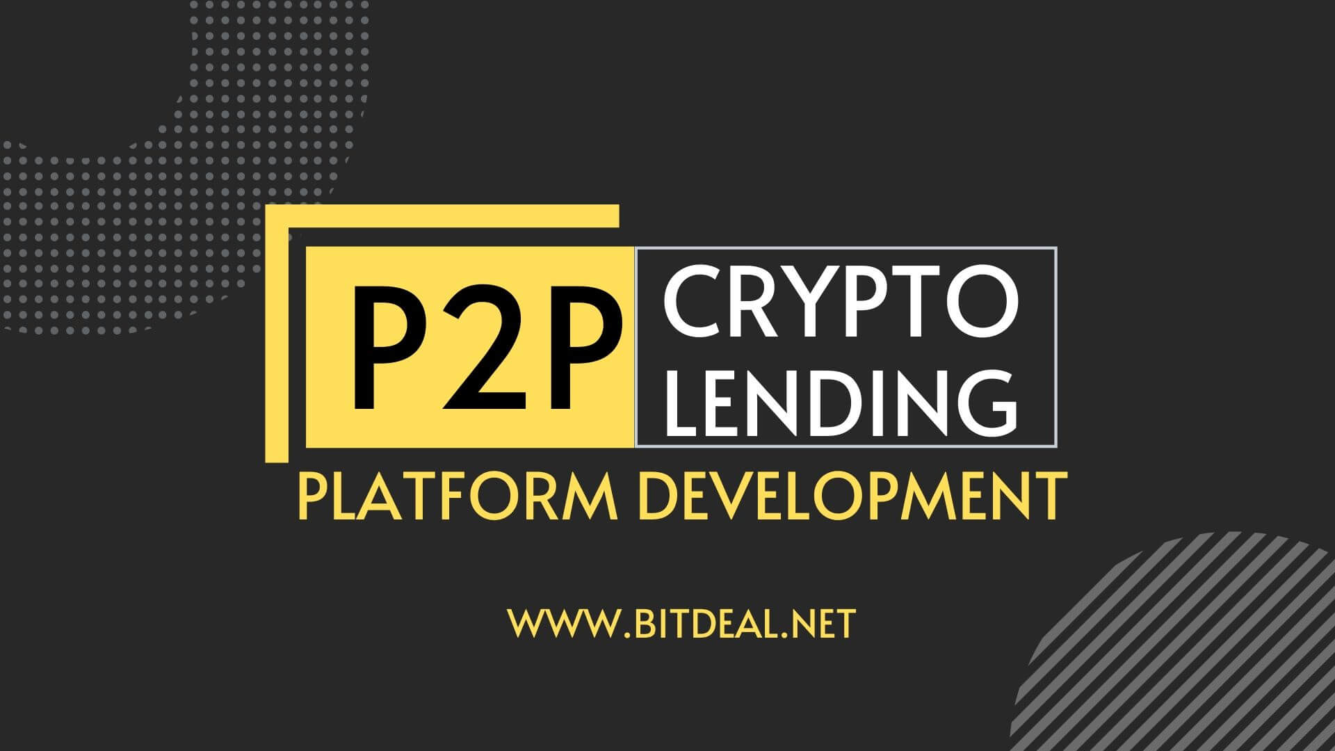 P2P Cryptocurrency Lending Platform Development Company