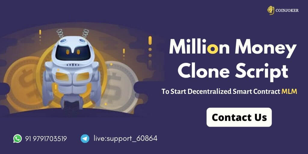 Million Money MLM Clone Script - To Build SmartContract MLM Platform like Millionmoney