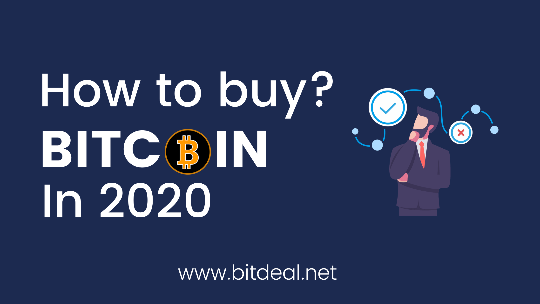 How To Legally Buy or Invest in Bitcoin - A 2020 Guide