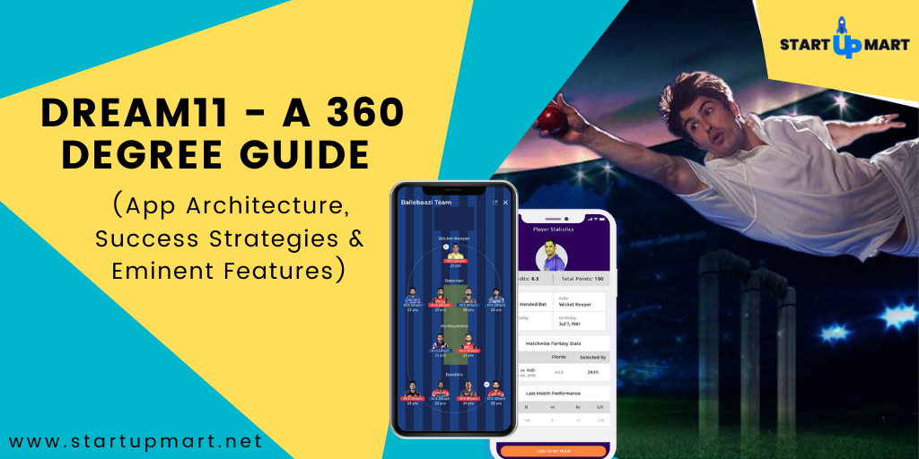 Dream11 - A 360 Degree Guide (App Architecture, Success Strategies & Eminent Features)