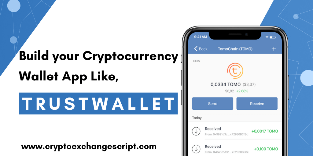 Build your Cryptocurrency Wallet App Like Trustwallet from Scratch