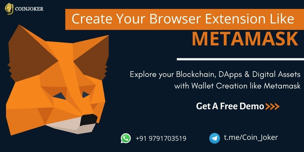 Build Your Own Cryptocurrency Wallet Chrome Extension Like Metamask