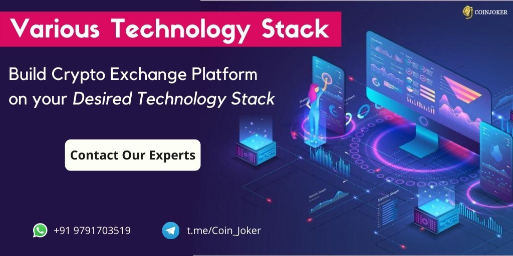 Various Technology Stack for Cryptocurrency Exchange Development - Coinjoker