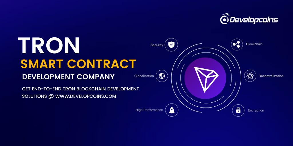 Tron Smart Contract Development Company