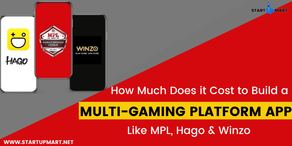 How Much Does it Cost to Build a Multi-Gaming Platform App like MPL, Hago and Winzo?