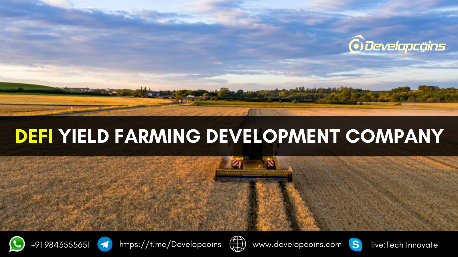 DeFi Yield Farming Development Company