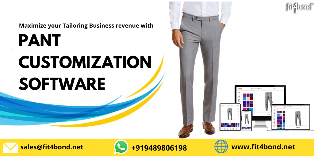 Pant Customization Software - A  Tailoring Software Solution For Online Tailors To Tailor Custom Pant Outfits