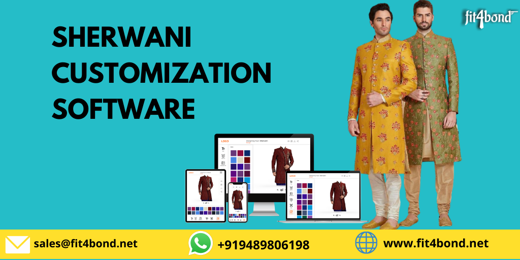 Men Sherwani Customization Software - An easy way to change your online tailoring business strategies.