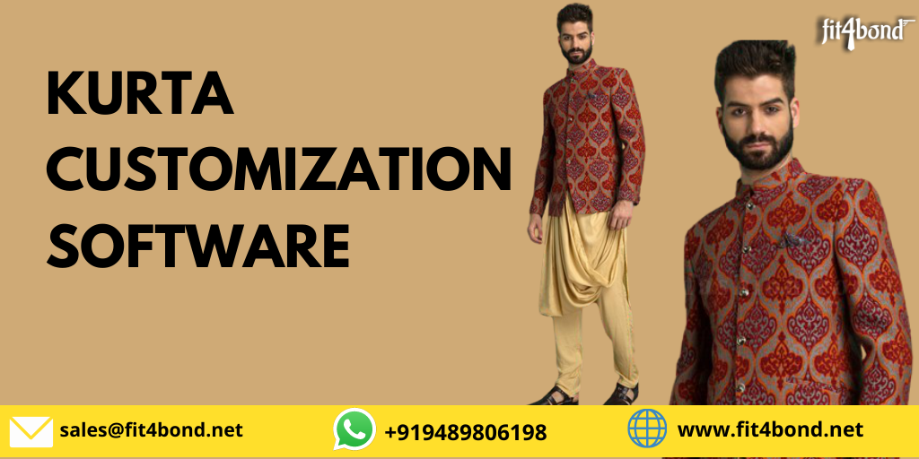 Men Kurta Customization Software For Fashion Designers To Customize Elegant & Stylish Kurta's