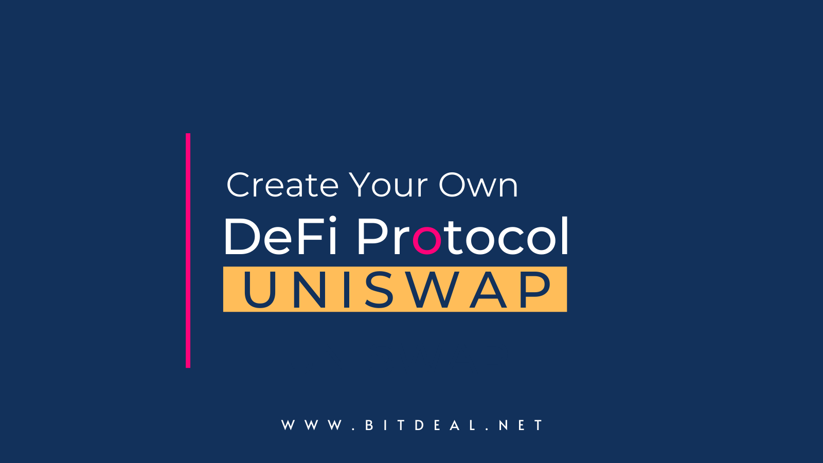 DeFi Protocol Development - Create Your Own DeFi Protocol like Uniswap