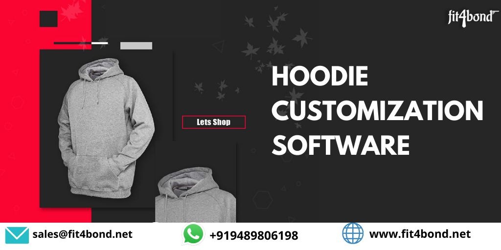 Hoodie Customization Software - Enable your customers design Hoodie for organization or event online