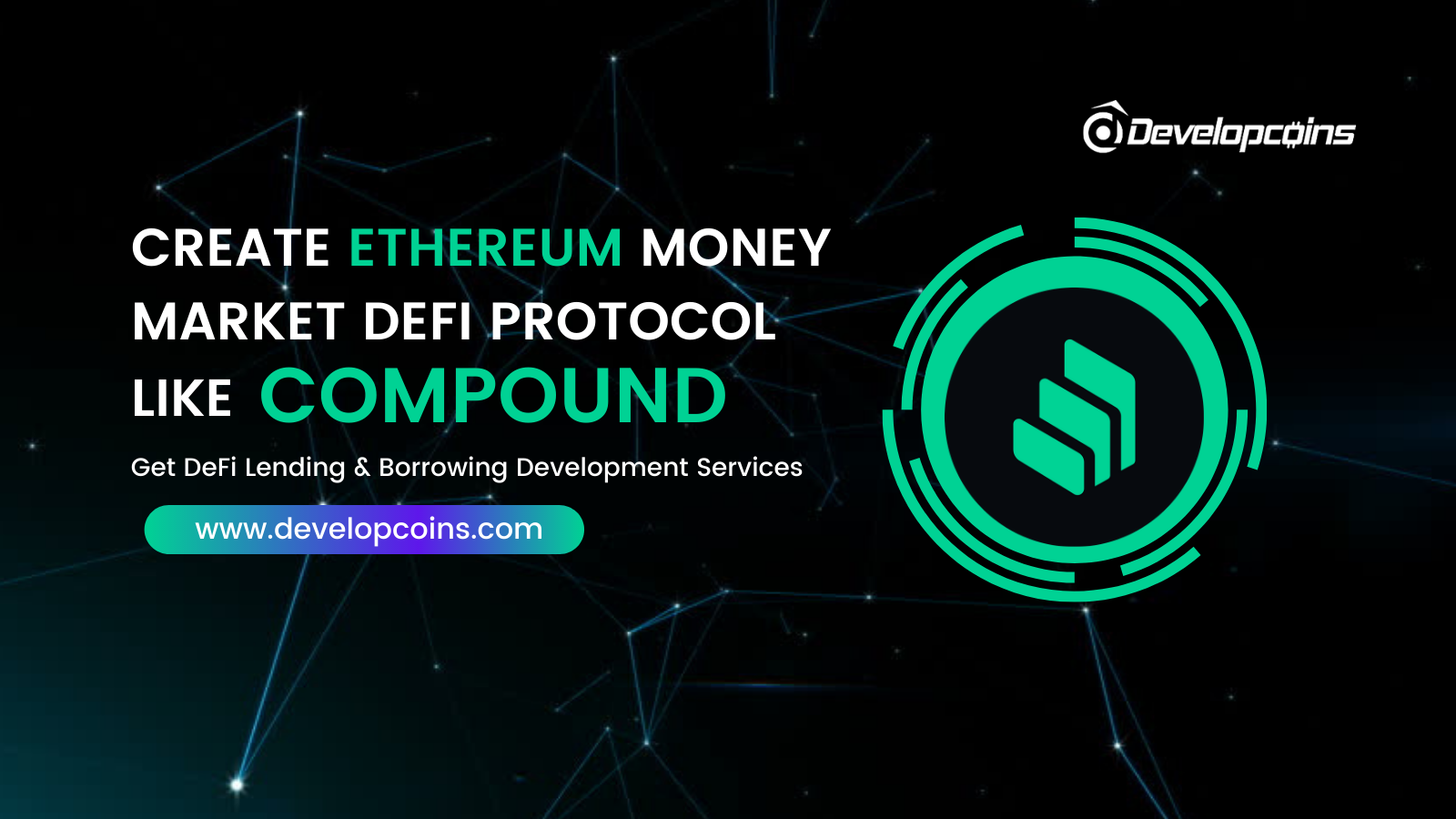 Create Ethereum Money Market DeFi Protocol like Compound