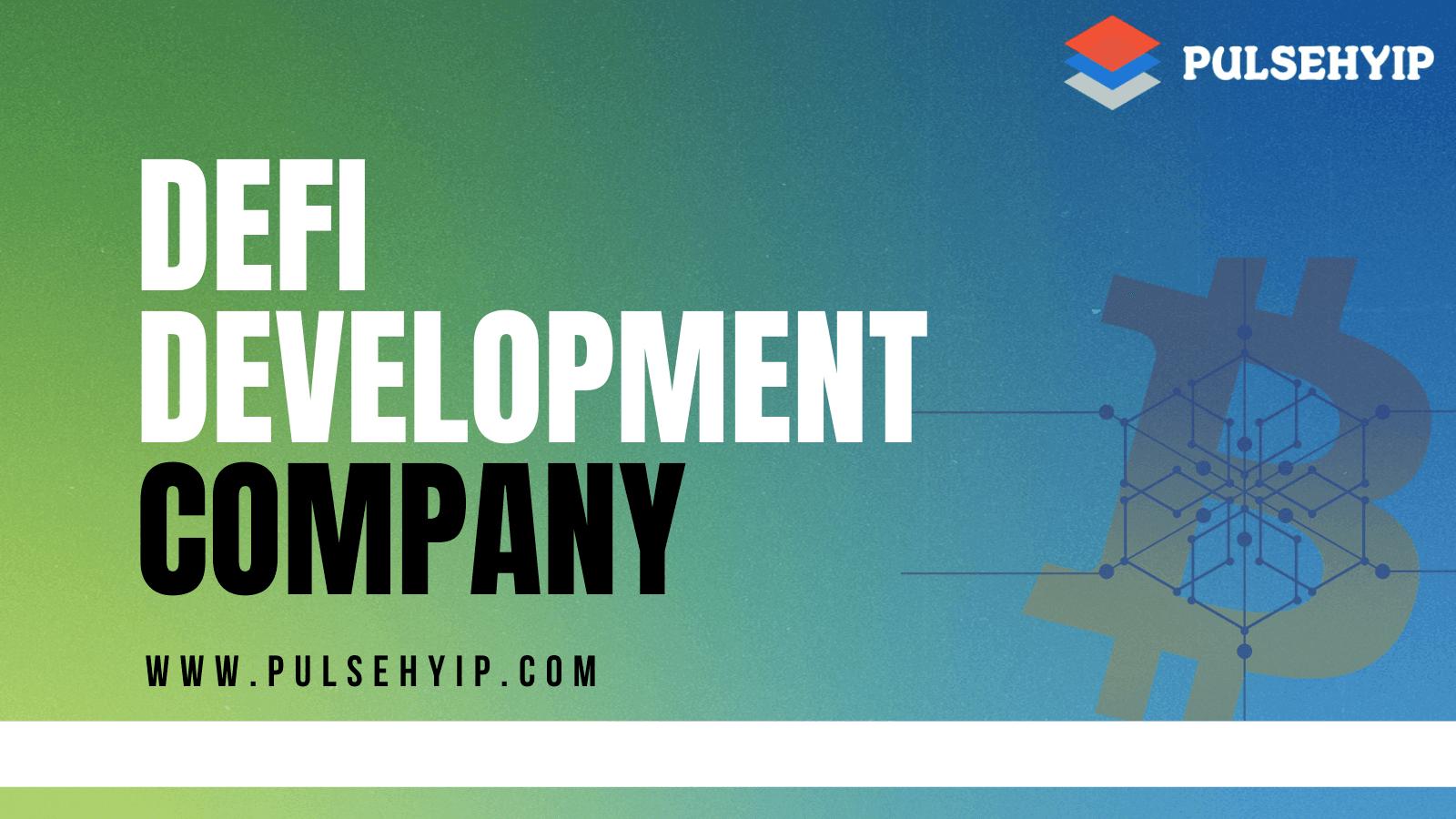 Decentralized Finance (DeFi) Development Company - DeFi Based Protocol Services & Solutions Provider