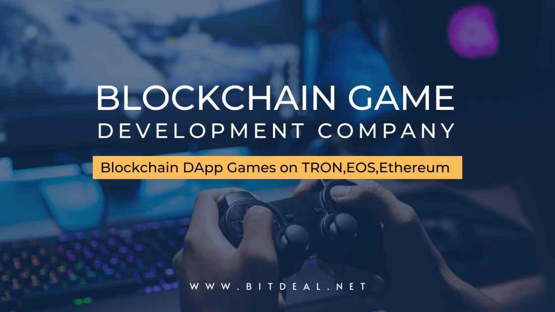 Develop Your Own Blockchain Dapp Game on TRON, EOS or Ethereum
