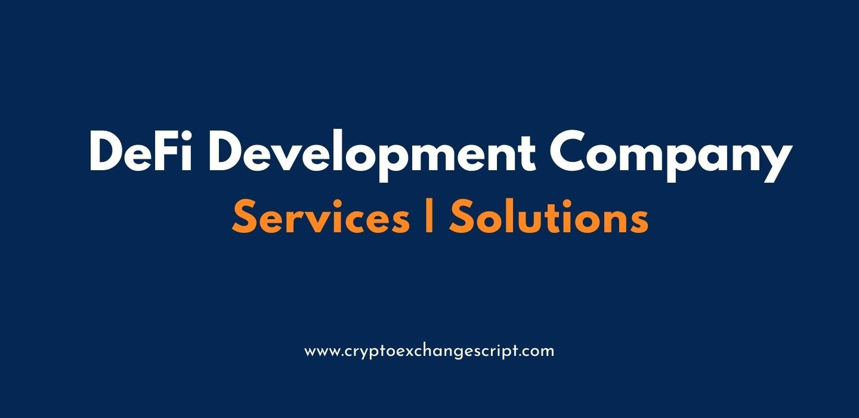 Decentralized Finance (DeFi) Development Company - Coinjoker