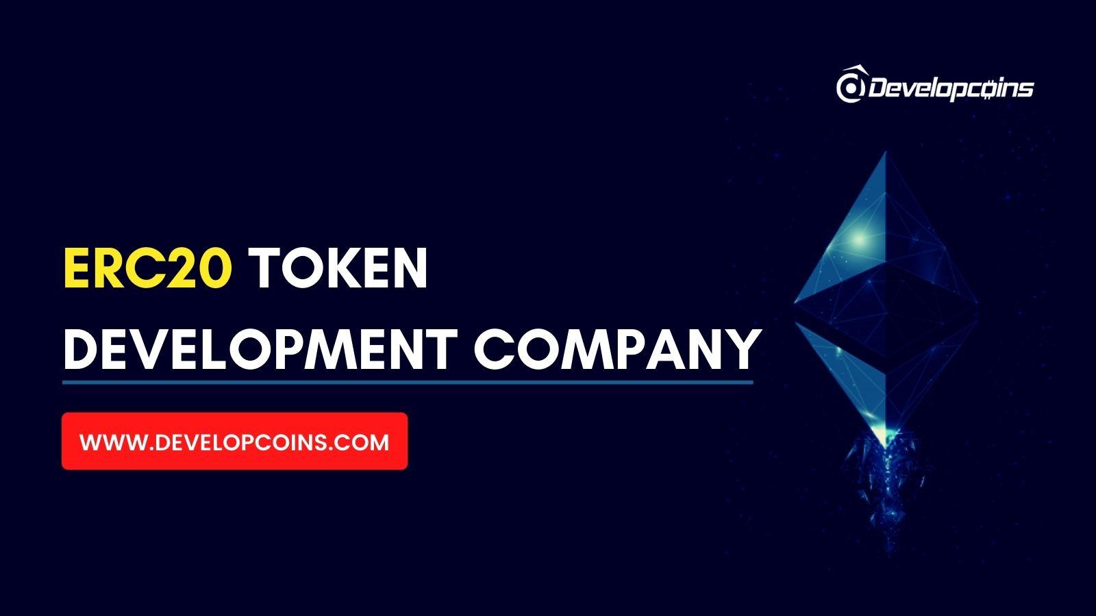 ERC20 Token Development Company | ERC20 Token Creation Services
