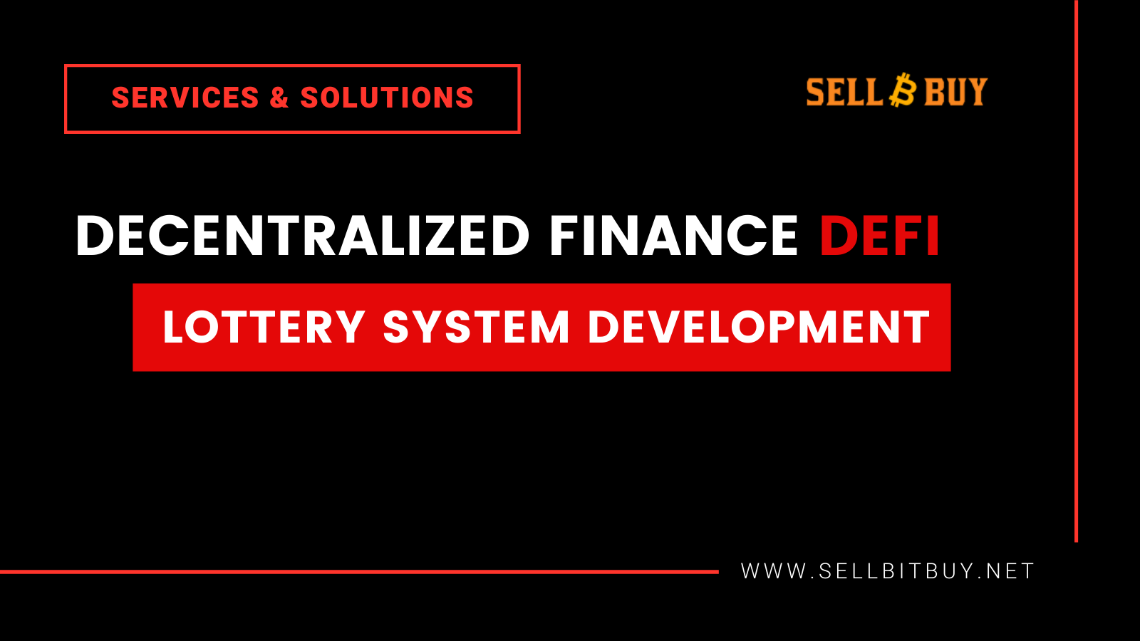 DeFi Lottery System Development | Sellbitbuy