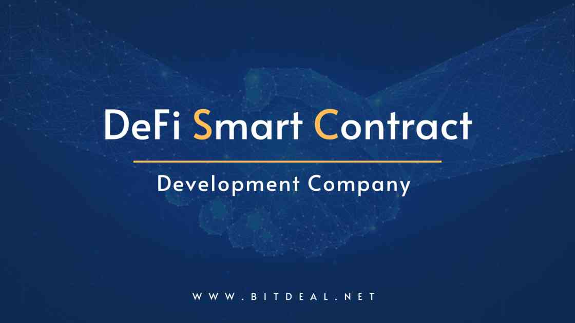 DeFi  Smart Contracts - The Fuel that Drives the Decentralized Finance Space